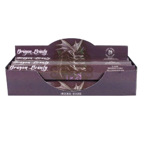ANNE STOKES Fantasy Incense Sticks - Amber - Dragon Beauty